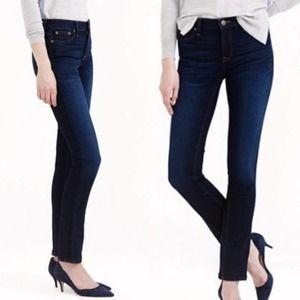 J.Crew Reid Dark Wash Slim Straight Fit Jeans NWT